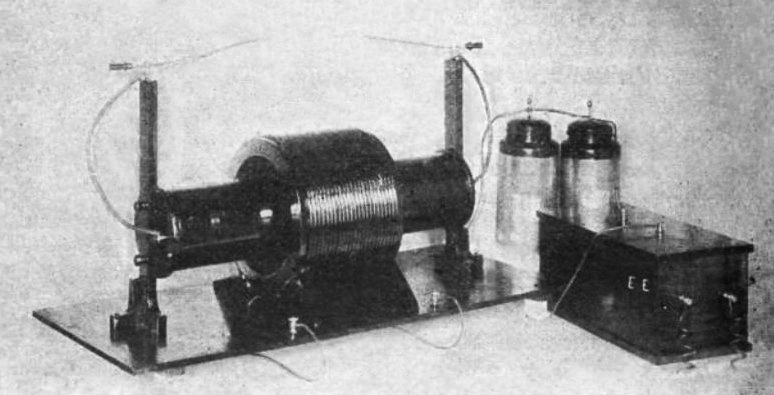 Small Tesla coil kit 1918