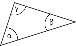 Sum of angles of triangle dzmanto