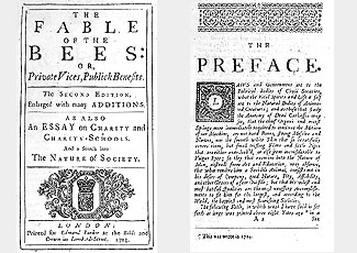 The Fable of the Bees (1705)