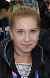 Ekaterina Alexandrovskaya at the 2017 Four Continents Championships (cropped)
