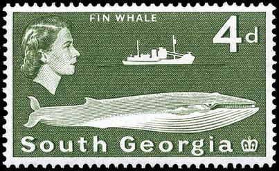 Stamp South Georgia 1963 4d