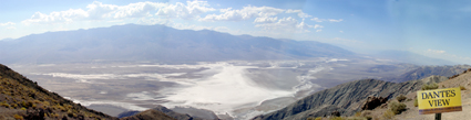 Dantes View, Death Valley, CA, USA