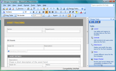 infopath editor