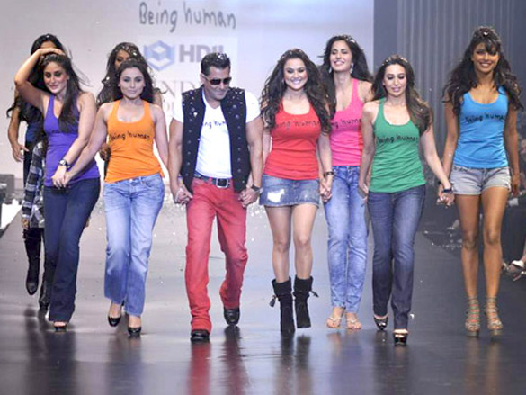Salman's Being Human show at HDIL India Couture Week 2010 (1)