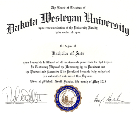 Bachelor Degree