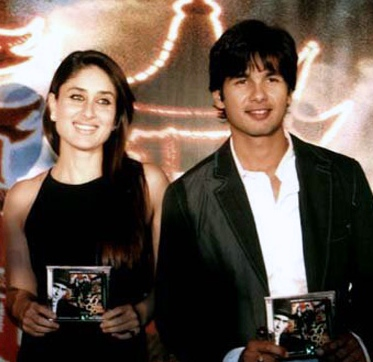 Kareena & Shahid at 36CT audio launch