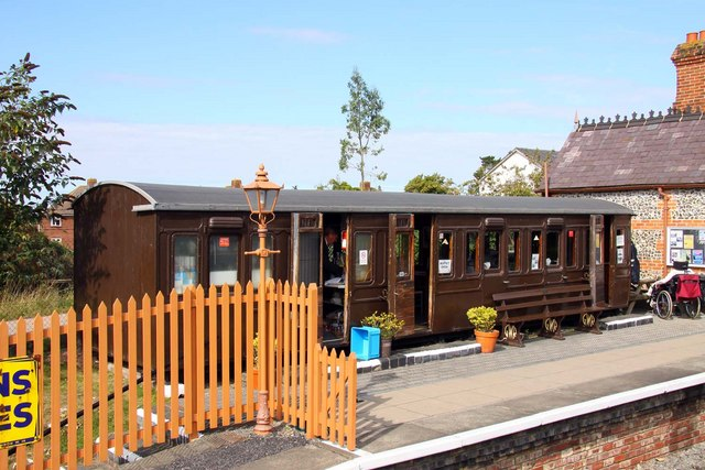 Cafe at Chinnor Station - geograph.org.uk - 1498816
