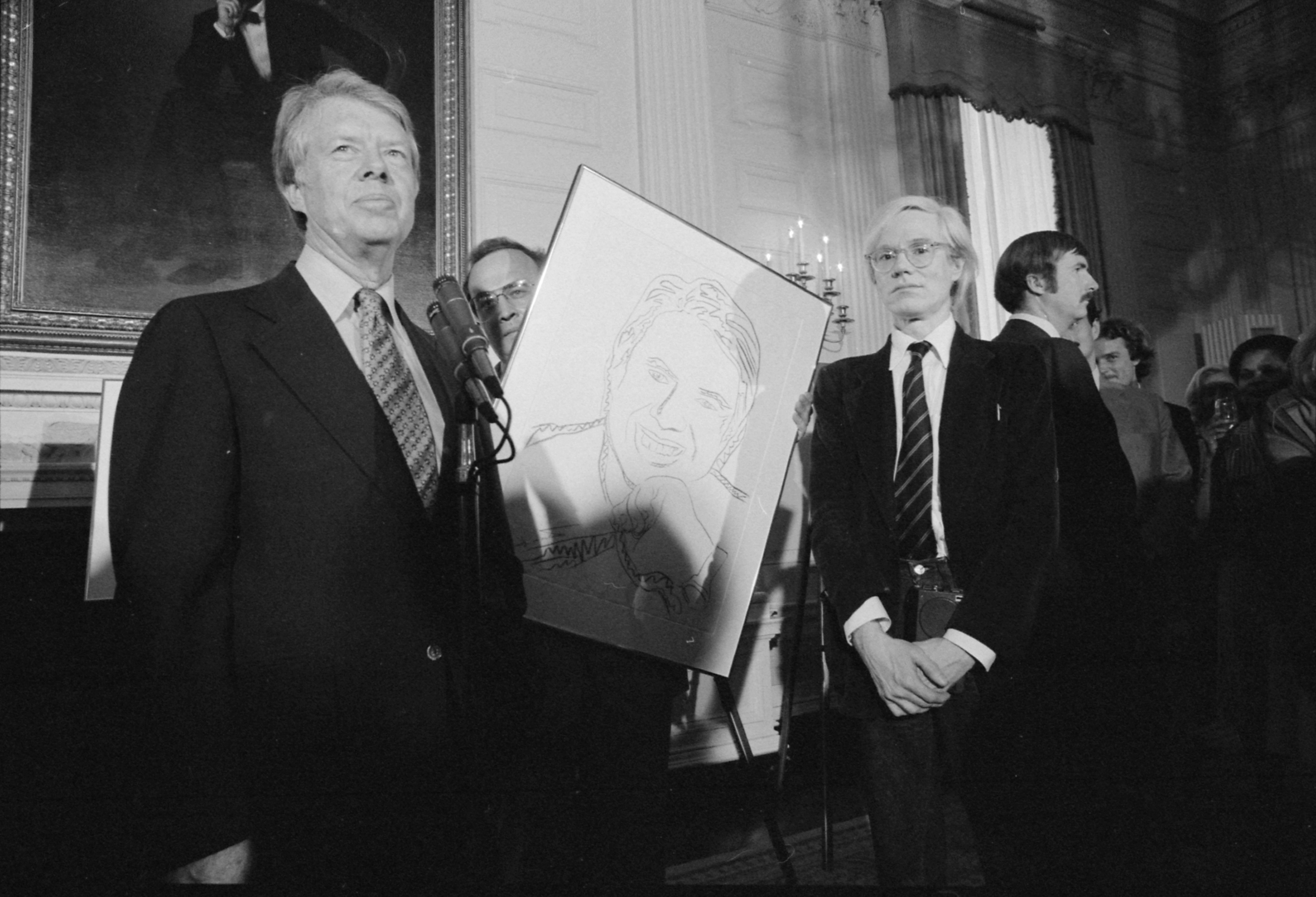 Jimmy Carter Andy Warhol 1977