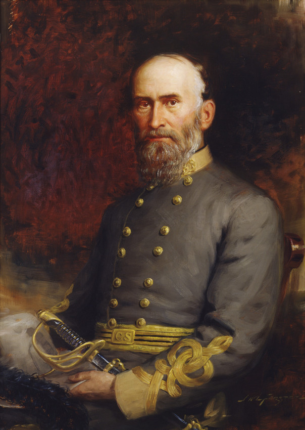 Confederate general Jubal A. Early, in full dress uniform by John Wycliffe Lowes Forster