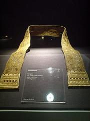 Golden Belt usually worn by the Hindu, Brahmi Caste, found in Butuan Archeological Digs