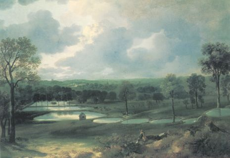 Thomas Gainsborough - Holywells Park, Ipswich
