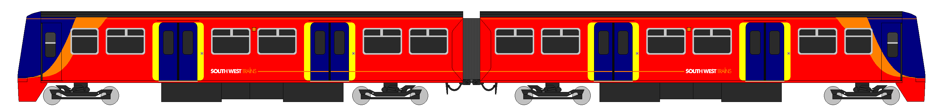 Class 456 South West Trains Diagram
