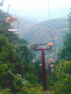 Chairlifts in Murree1