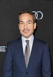 Jablonsky at the premiere of Ender's Game