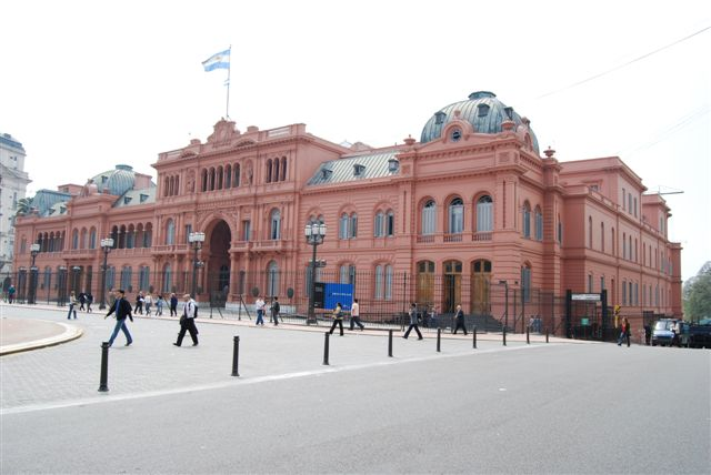 Casa Rosada - Argentine version of the White House