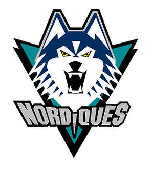 Nordiques proposed logo - correct colours