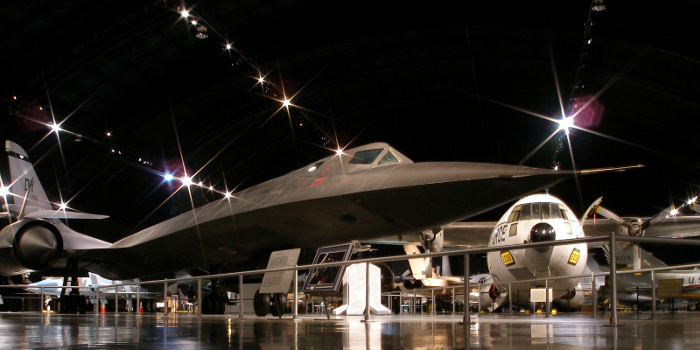 A293, Lockheed SR-71, National Museum of the USAF, Dayton, Ohio, USA, 2008