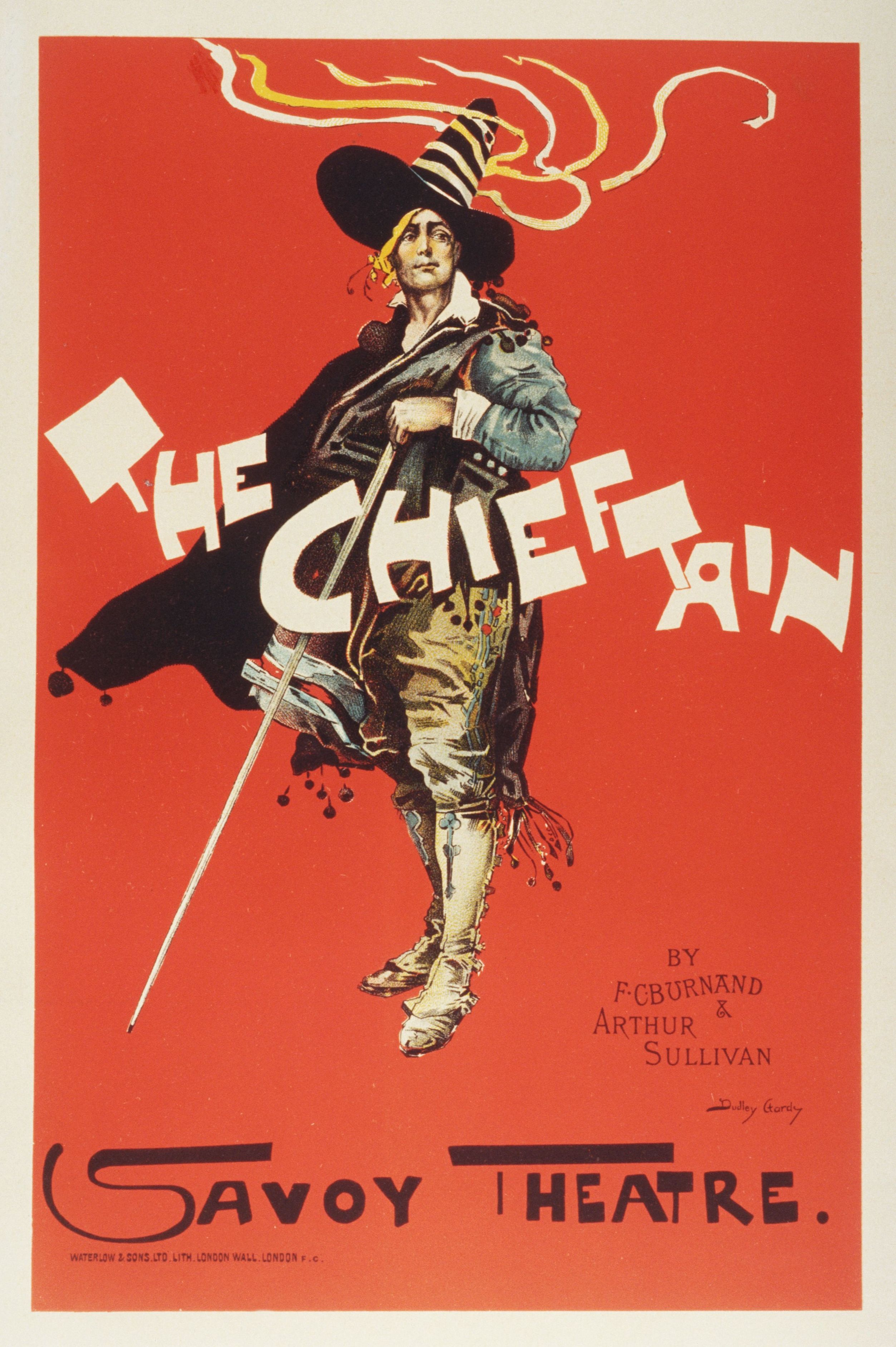 Chieftain poster 1894