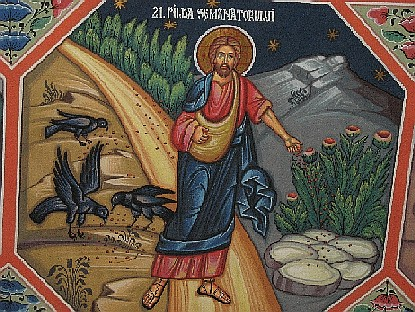 Representation of the Sower's parable