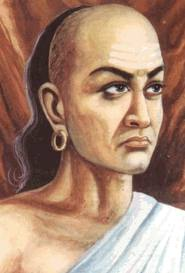 Chanakya artistic depiction