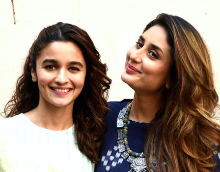 Kareena & Alia at UP meet