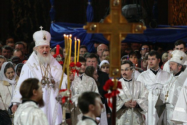 Patriarch kirill eastern liturgy 2010