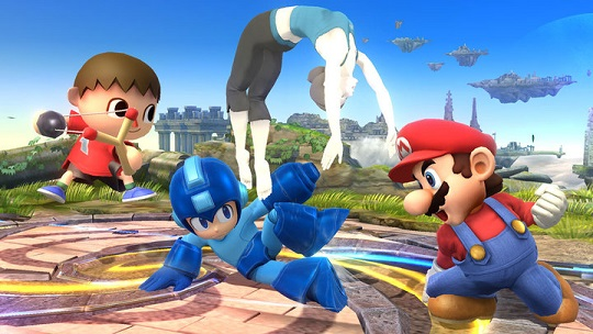 Super Smash Bros. U - new characters