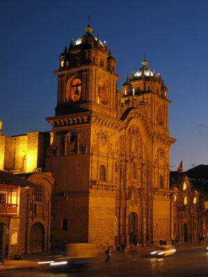 Cusco church la compania