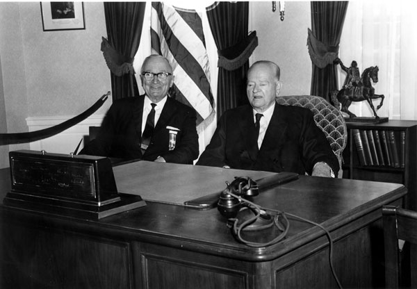 Harry Truman and Herbert Hoover