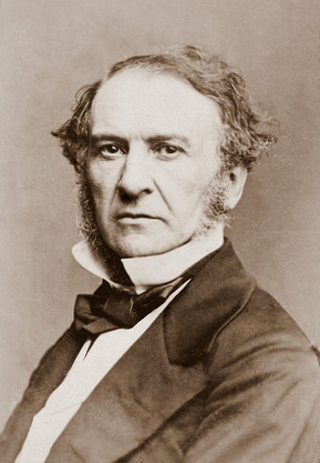 William Gladstone by Mayall, 1861