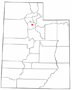 Location of East Millcreek, Utah