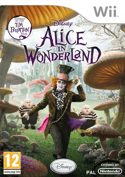 Alice in Wonderland (2010 video game) - Wii cover.png