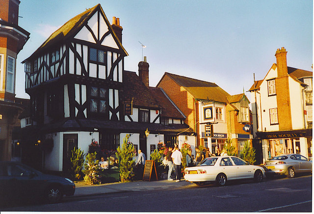 The Bird Cage Inn, Thame. - geograph.org.uk - 138013