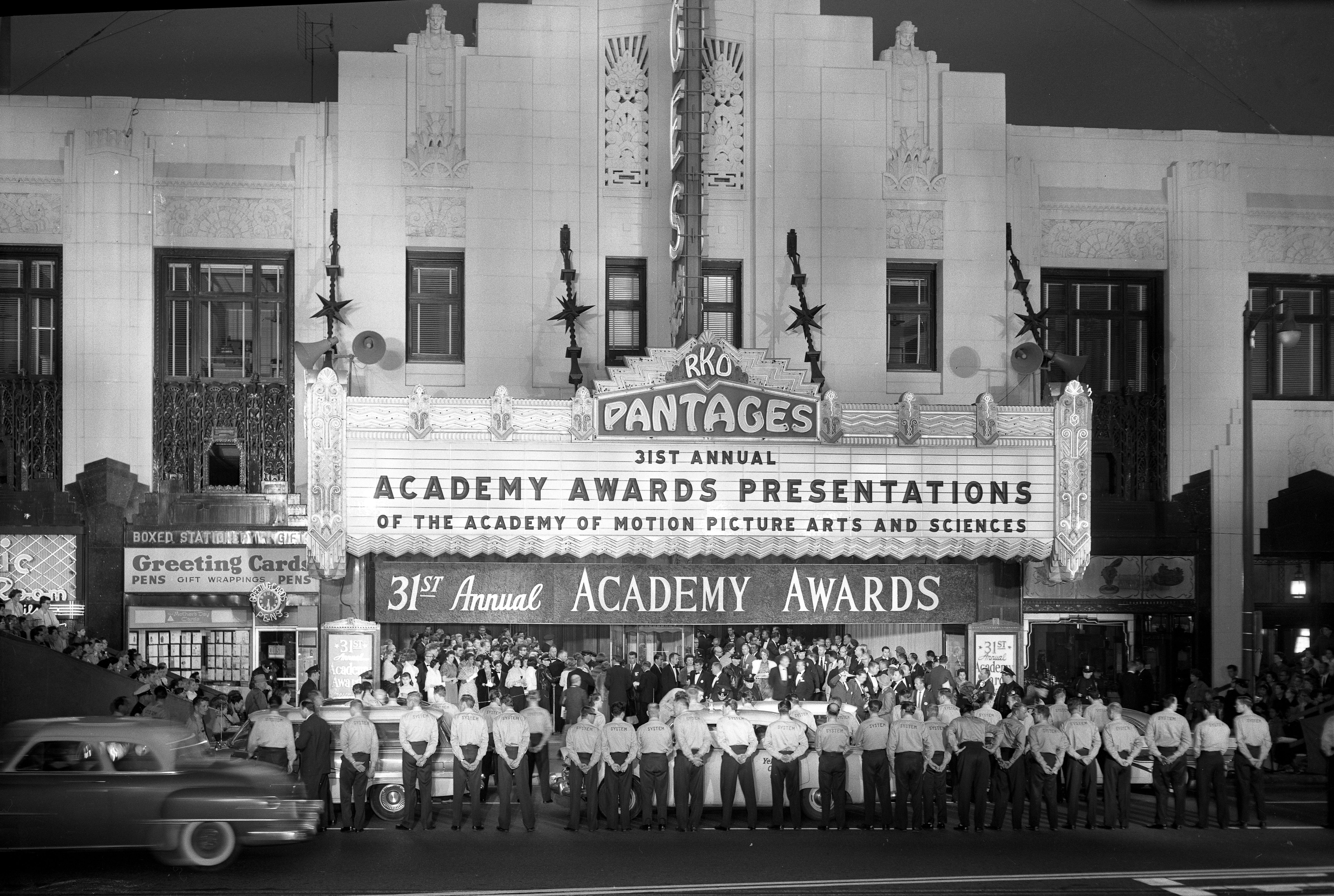 31st Acad Awards