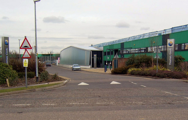 The Thomas Cook Business Park, Peterborough - geograph.org.uk - 129412