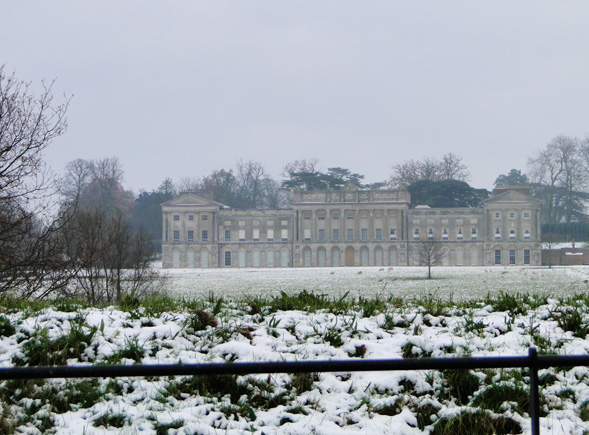 Heveningham Hall on a cold November day (geograph 2178364)