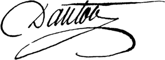 GeorgesDantonSignature