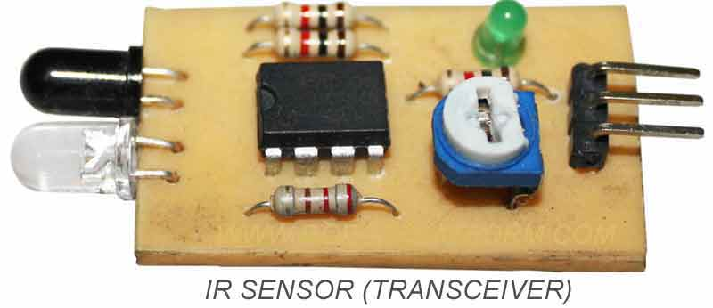 Infrared Transceiver Circuit