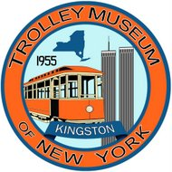 Trolley Museum of New York logo 2017