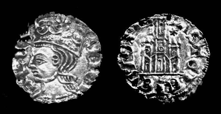 Alfonso XI Coin