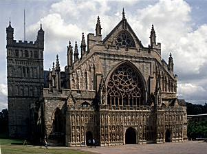 Exeter Cathedral (West End) 300px