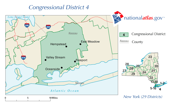 New York District 04 109th US Congress