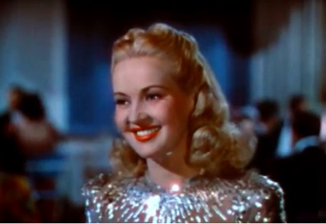 Betty Grable in Down Argentine Way