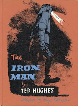 The Iron Man: cover of first edition by Adamson