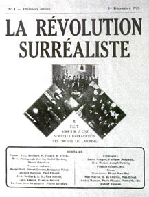 La Revolution Surrealiste cover