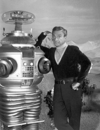 Lost in Space Jonathan Harris & Robot 1967