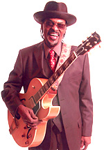 Chuck Brown and his guitar (2005)