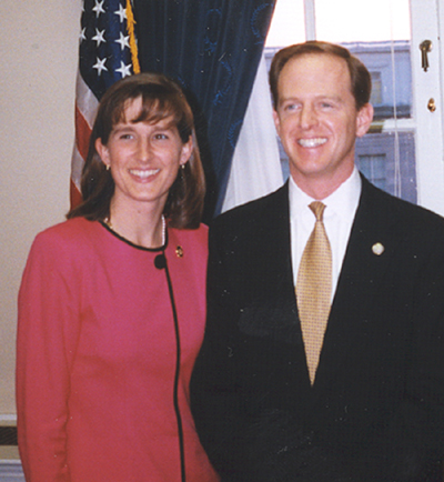 Pat and Kris Toomey1999