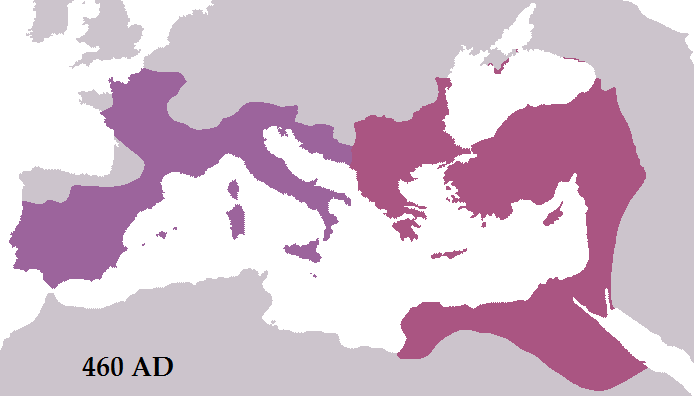 Roman Empire 460 AD