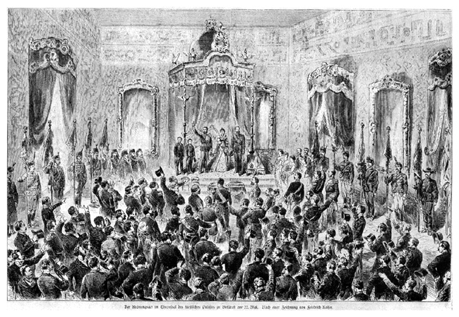 Crowning of Carol I, 10 May 1881